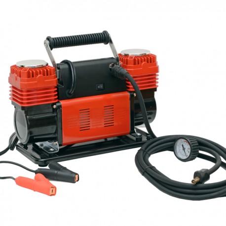 Compressore Aria Portatile 12V 300L/Min 600W 4x4 manometro con valvola di sgonfiaggio