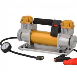 Compressore Aria Portatile 12V 200L/Min 300W 4x4 manometro con valvola di sgonfiaggio